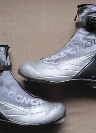 Rossignol x9 pursuit (43) ботинки для беговых лыж