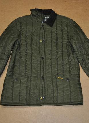 Barbour утепленная стеганая куртка барбур мужская