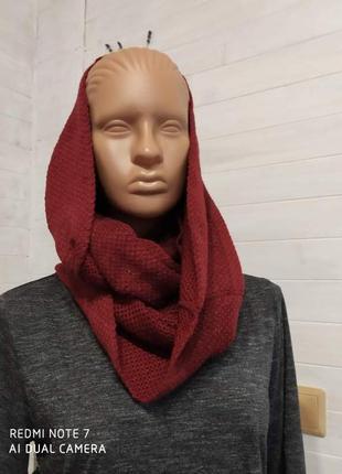 Красивый снуд.шарф