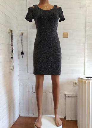 Классное платье young blood xxs-s