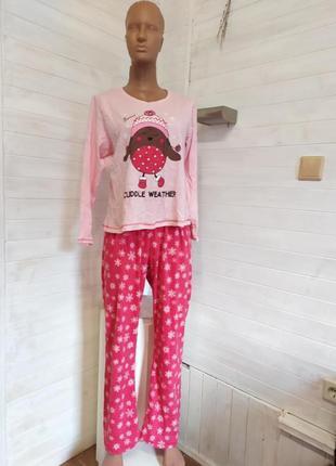 Тепленькая пижама из 3 вещкй