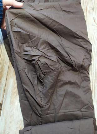Шоколадная простынь 200*150 с воланами