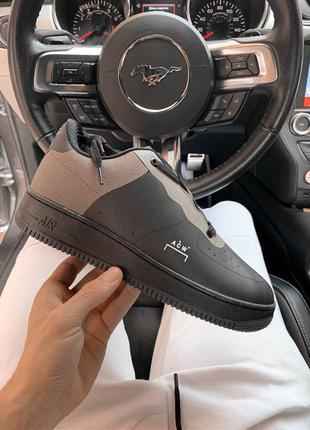Nike air force cold black мужские кроссовки