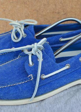 Топсайдеры sperry сша оригинал 44,5р туфли мокасины кеды