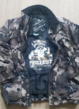 Куртка на подростка демисезонная 140см.
