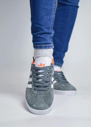 Adidas gazelle grey женские кроссовки адидас газели