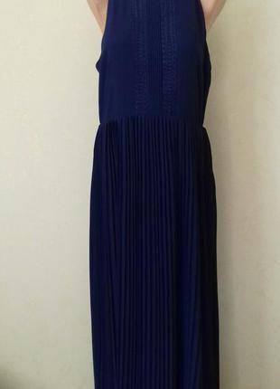 Новое длинное красивое платье с плиссированной юбкой darling