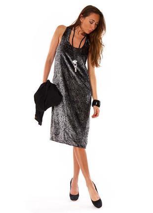 Брендовое бархатное велюровое нарядное вечернее платье vila ви...