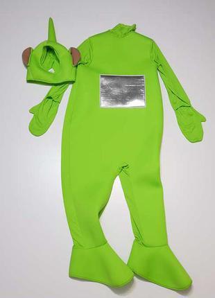 Карнавальный костюм телепузик дипси, взрослый, teletubbies, со...