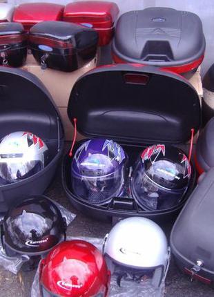 Кофр (багажник) Шлем на мопед/скутер/электровелосипед/электрос...