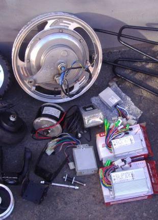 Мотор-Колесо 36v 400w (24v 250w) на электросамокат/гироскутер/...