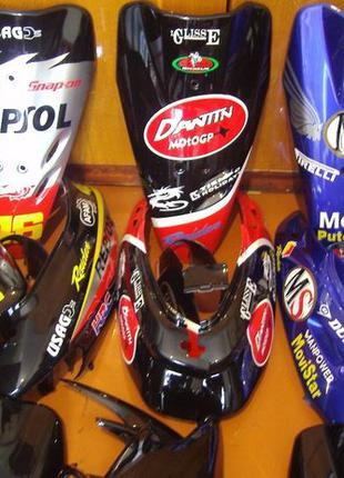 Комплект пластика на Honda Dio AF 27 (Хонда Дио 27) AF28 AF34 ...