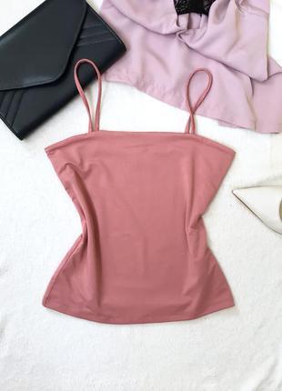 Летняя майка/ блуза на тонких бретелях в стиле 80
