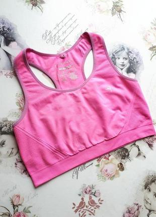 Розовый спортивный топ, бюстгальтер , pink