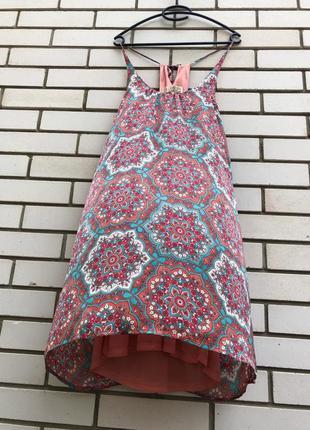 Яркий сарафан платье франция
