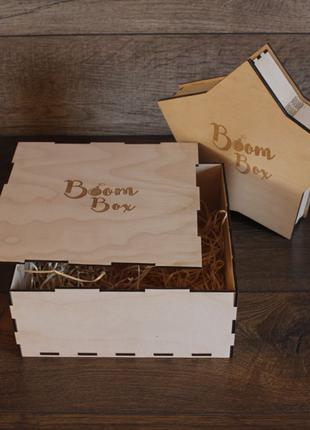 Коробка деревянная!подарочная упакова.Днепр