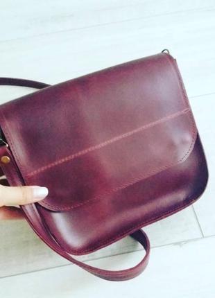 Нова кожаная сумочка