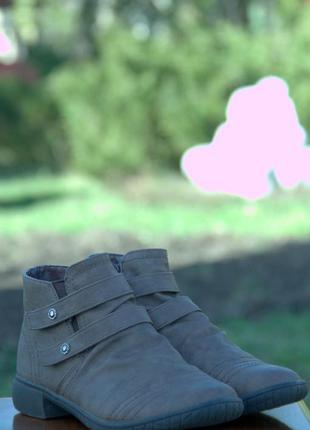 Комфортные весенние ботинки
