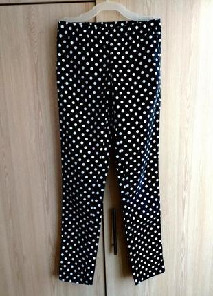 Женские брюки из стрейч коттона.