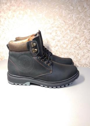 Зимние ботинки - натуральная кожа!