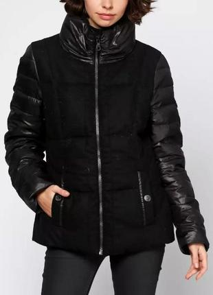 Куртка пуховик черная s.oliver m l 12 40 46