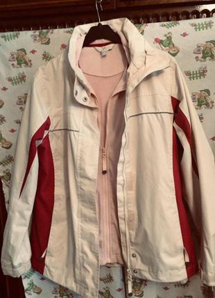 Куртка,ветровка,флиска,3 в одном,tcm tchibo