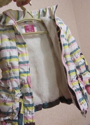 Курточка зимняя 1.5 - 3 года