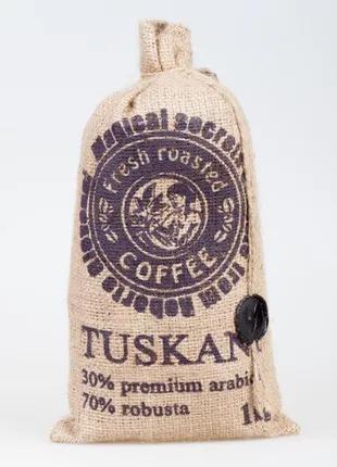 Кофе TUSKANI 30% арабика 70% робуста, 1кг