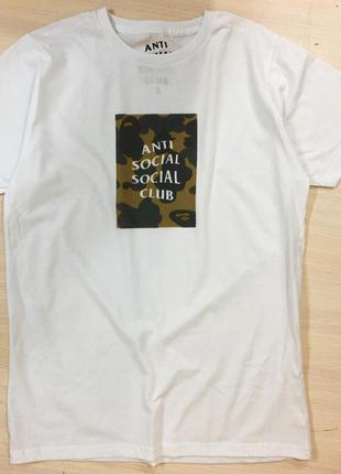 Футболка anti social club