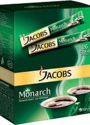 Кофе JACOBS Monarch, растворимый, стик, 520*2g - 1ящ