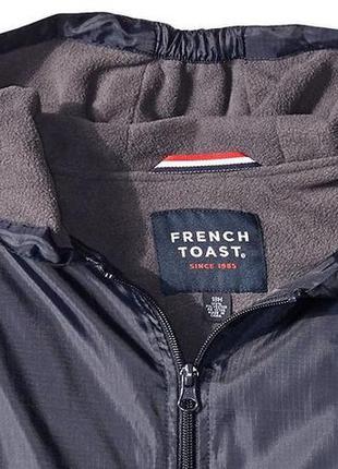 Куртка из французского тоста с подкладкой из флиса. америка, о...