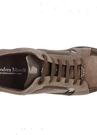 Итальянские туфли andrea morelli low-tops, р. 40, стелька 26.5...