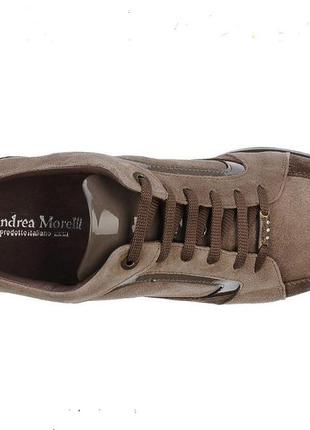 Итальянские туфли andrea morelli low-tops, р. 40, стелька 27 см,