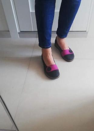 Туфли из натуральной матовой кожи