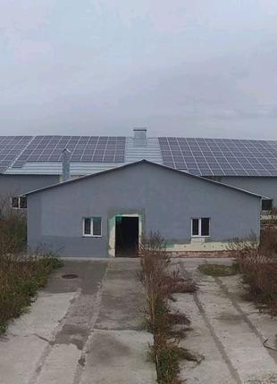 Солнечные и ветроэлектростанции