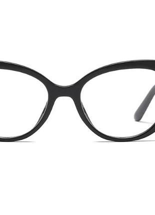 Имиджевые очки, кошачий глаз