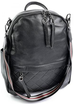 Женский кожаный рюкзак. шкіряний жіночий