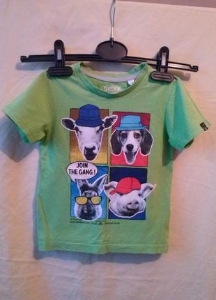Прикольная футболка для малыша
