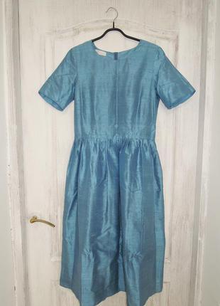 Классическое платье из шелка