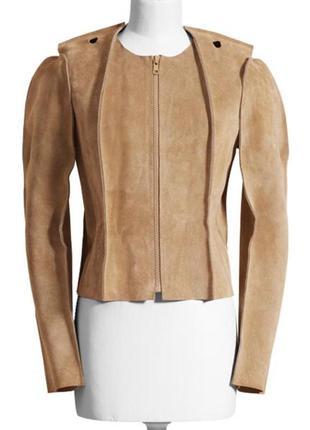 Maison martin margiela x h&m кожаная куртка (100% кожа)