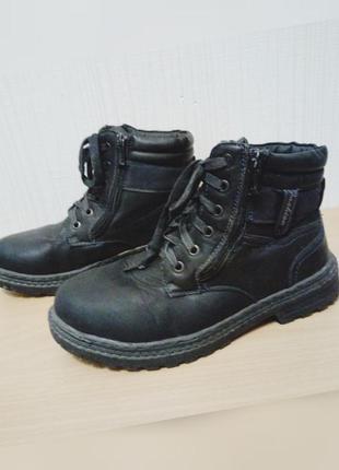 Зимние теплые ботинки 40 размер