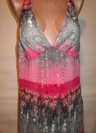Шикарное платье в пол от ever pretty uk12/eur 40 наш 46