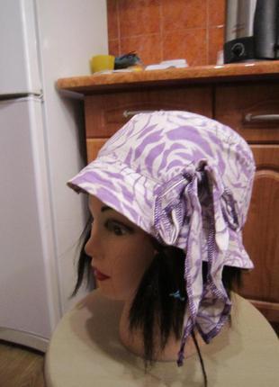 Панамка, шляпка на 6-8 лет