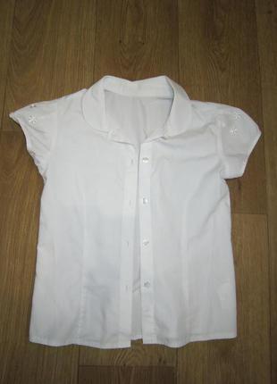 Блуза в школу на 6-7 лет f&f