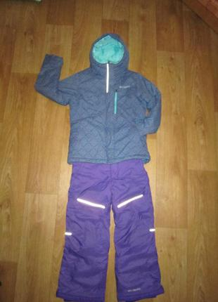 Термокостюм columbia, куртка, штаны. на ребенка от 5 до 7 лет