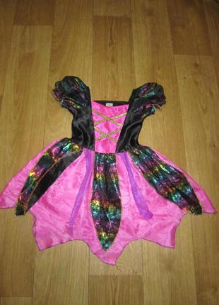 Нарядное платье f&f на 2-3 годика