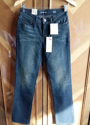 Прямые джинсы Levis 27 рост 32