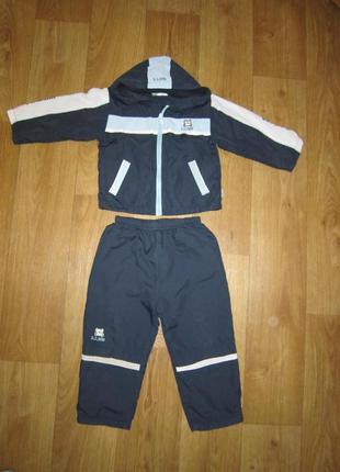 Спортивный костюм на флисе, 3-4 года