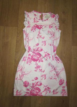 Платье для дома, сна на 9-10 лет