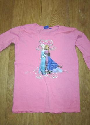 Реглан, футболка с длинным рукавом frozen на 9-10 лет